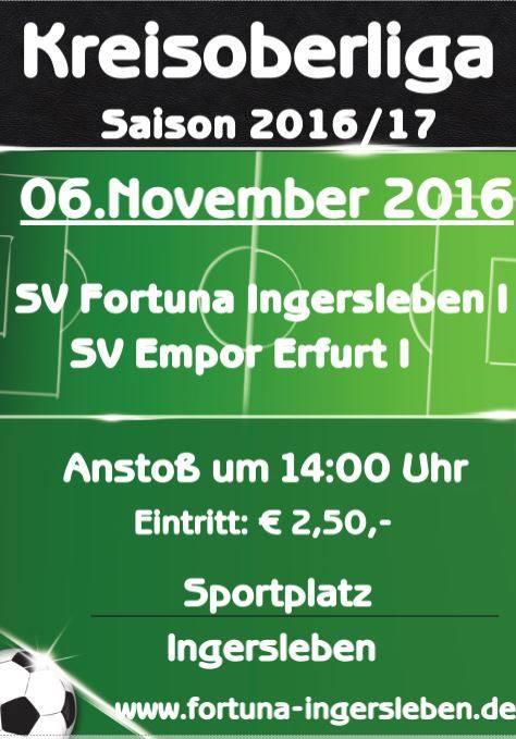 FCI I : Empor Erfurt I